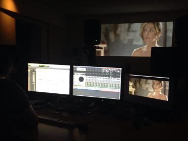 Dentro - audio mixing with Fede Pajaro